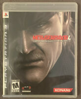 Metal Gear Solid 4: Guns of the Patriots (Sony PlayStation 3) - PS3 - Complete