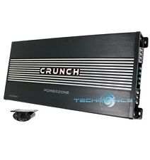 CRUNCH PZA2000.1 2000W MONOBLOCK CLASS AB POWER ZONE 1 CHANNEL CAR AMPLIFIER