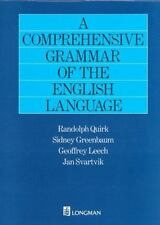 A Comprehensive Grammar of the English Language Int'l Edition