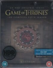 Game of Thrones: Season 5 (Steelbook Blu-ray, Limited Edition with Sigil Magnet)