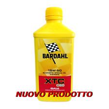 Olio motore moto Bardahl XTC C60 15W50 4T - 1 Litro - MIN. 2 LT.