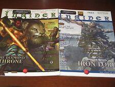 White Wolf Quarterly/Sword&Sorcery Insider magazine lot 1.4 & 3.3 D&D rpg
