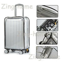 """PVC Dust-proof Waterproof Transparent Luggage Protector Suitcase Cover 20"""" - 30"""""""