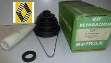 NEUF STOCK RENAULT 21 TXE D kit REPARATION SOUFFLET CARDAN côté roue SPIRAX 522