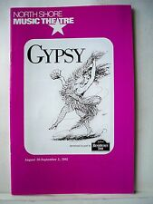 GYPSY Playbill STEPHEN SONDHEIM / JULE STYNE / RITA MORENO North Shore MA 1992
