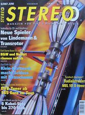 Stereo 6/07 Kharma Matrix MP-150, Meridian G01/G56, Nubox 681, Transrotor Enya 9