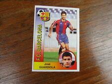 FOOTBALL STICKER PANINI collector : JOSE GUARDIOLA FC BARCELONA LIGA 1994-1995