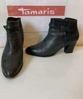 Tamaris Smart Leather Boots Size UK 7 EU 40 in very good condition