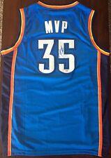 Kevin Durant Oklahoma City Thunder Signed Blue MVP Jersey Size Large PSA/DNA COA