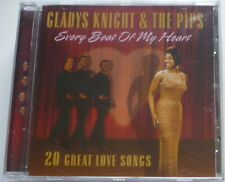 GLADYS KNIGHT + THE PIPS - Every beat of my heart -20 great love songs- CD >NEW!