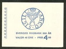 Sweden (H203) Scott 778a, 45ore Nat'l Bank booklet, Vf