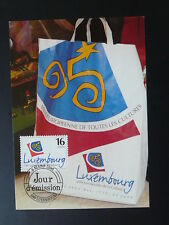Europe Luxembourg city of culture maximum card Luxembourg 1995