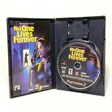Operative No One Lives Forever (PlayStation 2 / PS2) With Case + Manual - TESTED