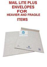 100 K7 BIANCO 350x470mm Mail Lite PLUS Bolla Buste per più pesante gli articoli fragili
