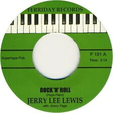 "JERRY LEE LEWIS -""ROCK n ROLL"" b/w ""TRAVELIN' BAND"" GREAT KILLER CUTS-HEAR THEM"
