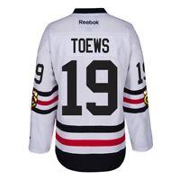 Jonathan Toews Chicago Blackhawks NHL White 2017 Winter Classic Premier Jersey