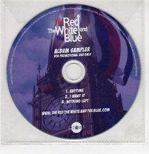 (GI254) The Red The White And Blue, 3 track sampler - 2012 DJ CD