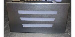 """LED 7""""x4.5"""" Recessed Wall Light 3000K 220-240V 36x0.1W-LEDS - D1FD3634"""