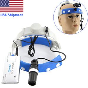 USA Dental LED Headlight 5W LED High-Power Medical Headlight Surgical Headlight