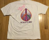 Vintage 90s Wigged Out snowboarding t shirt XL surfing skiing funky hipster 1990