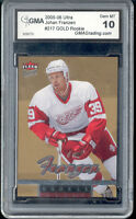 2005 Johan Franzen Ultra Gold  Rookie  Gem Mint 10 #217