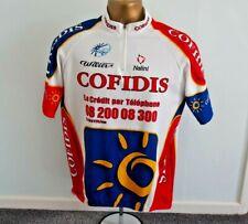 NALINI - COFIDIS UCI PROTOUR CYCLING JERSEY MEN SIZE 2XL