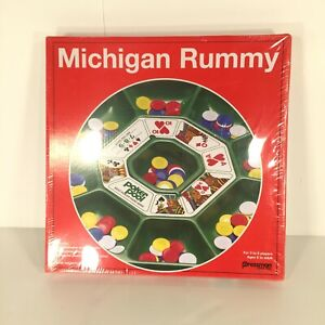 Pressman Michigan Rummy Game Toy Classic Gameplay For 3 to 8 players