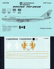 1/200 AHS DECALS 2023; CALEDONIAN Boeing 747-283B