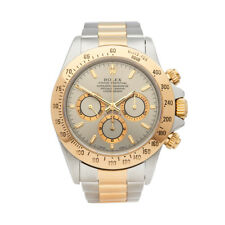 ROLEX DAYTONA STAINLESS STEEL & 18K YELLOW GOLD WATCH 16523 W5327