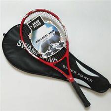 Alta Calidad Fibra de Carbono Raqueta Tenis Equipped Bolsa Tamaño Grip 4 1/4