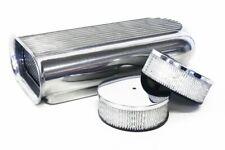 Polished Aluminum Hilborn Hood Scoop Dual or Single 4 Barrel Blower/Tunnel Ram