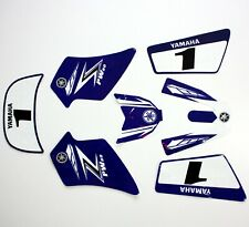3M BLUE Decals Graphics Sticker Kit YAMAHA PEEWEE 50 PW50 PY50 Fairing Bike