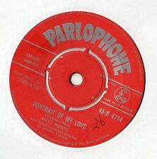 "Matt Monro - Portrait of My Love 7"" Single 1960"