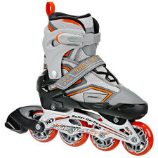 Roller Derby Stingray Adjustable Inline Skates/Rollerblades Girl/Boys US J12-2