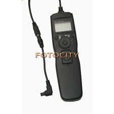 Timer Remote Shutter Removable Cord Cable F Canon EOS 1DS 5D Mark II III 7D 50D