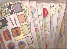 9 pks Stickers CREATIVE MEMORIES Jumbo COTTAGE Birthday GAZEBO Celebration Kids