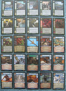 Warcry CCG Winds of Magic Rare & Super Rare Cards Part 2/2 (Warhammer)