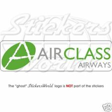 """AIRCLASS Airways Airlines 200mm (8"""") Vinyl Sticker Decal - Very Rare"""