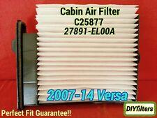 C25877 AC Cabin Air Filter For 2007-2012 Nissan Versa
