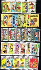 Mint 175+ Different Walt Disney Cartoons Mnh - 30 International Sets Collection
