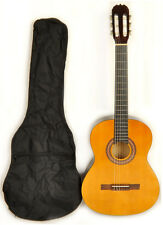 """38"""" Full Size Classical Acoustic Guitar w/Free Carry Bag Omega Class Kit 1 NA"""
