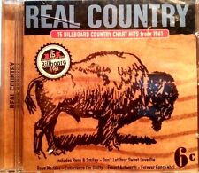 VARIOUS ARTISTS CD REAL COUNTRY COUNTRY HITS FROM 1961 FREE POSTAGE IN AUSTRALIA