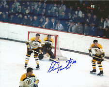 "BERNIE PARENT Autographed Signed 8"" x 10 Photo Boston Bruins Philadelphia Flyers"
