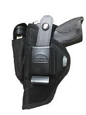 Pistol Belt Hip Holster for Colt 380 Government Model.