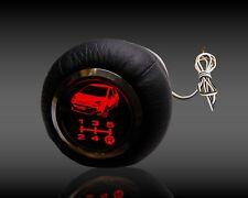Fiat Punto Evo   Pomello di cambio in pelle retroilluminato 5 velocità  led