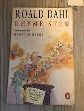 Rhyme Stew, Dahl, Roald, 1990 First Penguin Edition