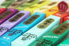 AQ JAPANESE INCENSE - Morning Star x10 MIXED PACKS - Sandal, Frankincense, Cedar
