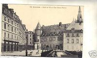 38 - cpa - GRENOBLE - Hôtel de Ville et rue Hector Berlioz ( i 3655)