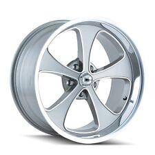 CPP Ridler 645 Wheels, 17x7 fr + 17x8 rr, fits: CHEVY GMC C10 C1500 SILVERADO