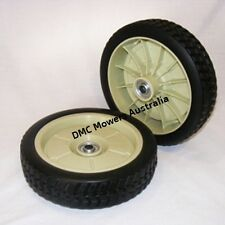 "2 x 200mm Dual Ball Bearing WHEELS for HONDA 19 & 21"" Lawn Mowers"